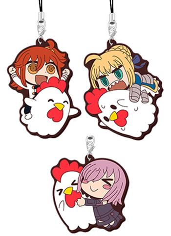 Fate Grand Order × Lawson Exclusive Rubber Strap Mascot Illust. Riyo