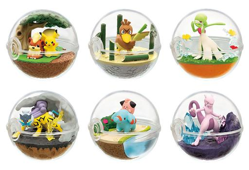 Pokemon Terrarium - Character Box Candy Toy Mini Figure Vol.7