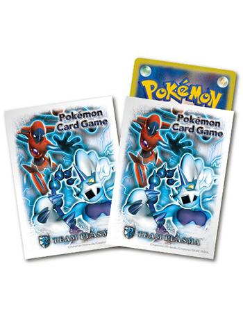 Pokemon Black & White BW8 Team Plasma Deoxys - Character Sleeves XY 32ct