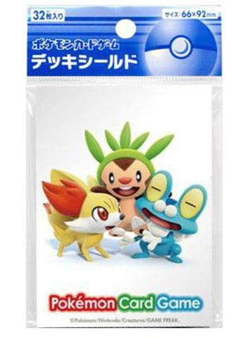 Pokemon - Fennekin Chespin Froakie - Character Sleeves XY 32ct