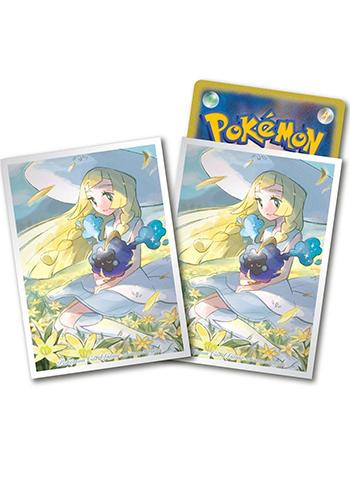 Pokemon Center Original Lillie &Cosmog Premium Character Mat Sleeves 64pcs