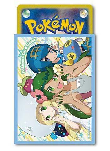 Pokemon Center Original Exclusive Mallow & Lana & Lillie - Character Sleeves