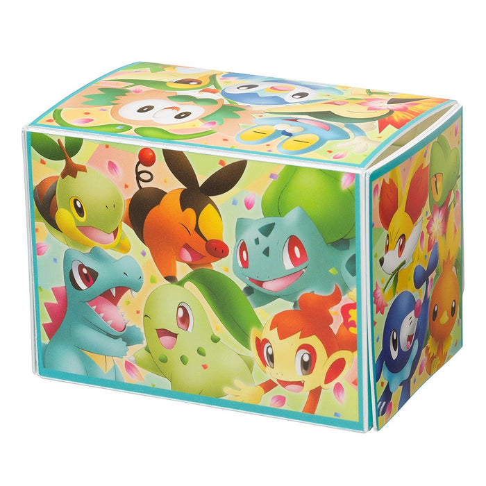 Pokemon Center 20th Anniversary Pikachu Card Sleeves + Deck Box Set