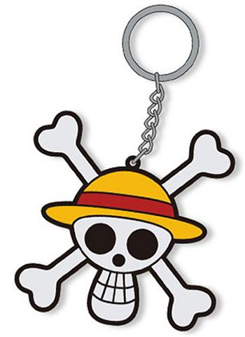 One Piece - Straw Hat Pirates' Jolly Roger - Cospa Character Rubber Key Chain Mascot