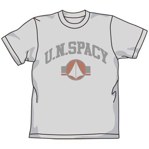 Macross U.N.Spacy Cospa T-shirt Mix Gray L / XL
