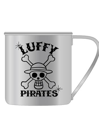 One Piece Luffy Pirates - Metal Tin Mug Cup Cospa