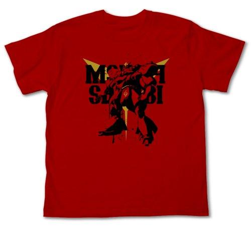 Char`s Counterattack MSN-04 Sazabi - Cospa Character Red Cotton T-shirt