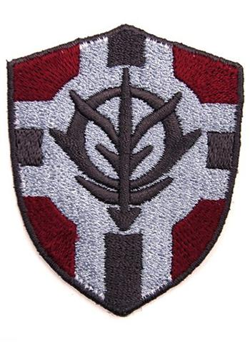 Mobile Suit Z Gundam Principality Force Vertical Banner Cospa Velcro Patch Wappen