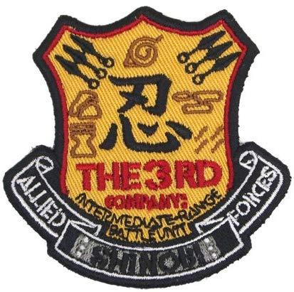 Naruto: Shippuden - Shinobi Rendo The 3rd Company - Cospa Removable Velcro Patch Wappen