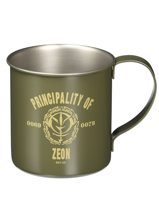 Mobile Suit Gundam - Principality of Zeon - Metal Tin Mug Cup Cospa