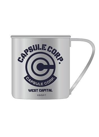 Dragon Ball Kai Capsule Corporation - Cospa Character Tin Metal Travel Cup Mug