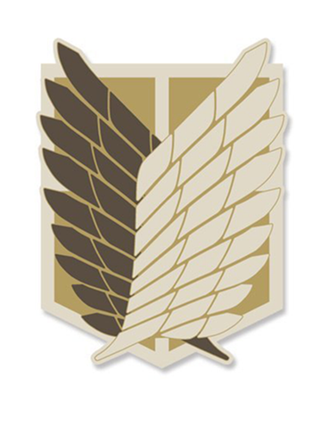 Attack on Titan - The Survey Corps - Cospa Removable Velcro Patch Wappen