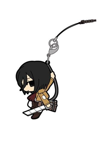 Attack on Titan - Mikasa - Tsumamare Cospa Pinch Rubber Strap AoT