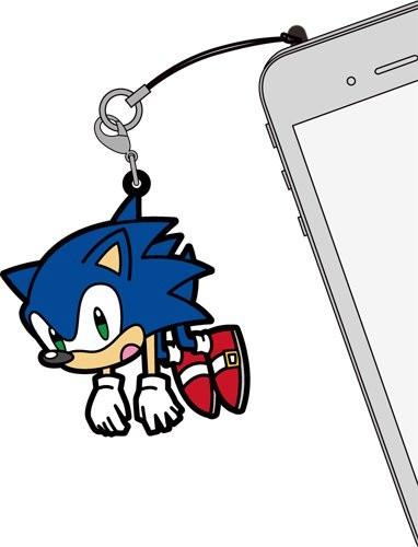 Sonic the Hedgehog - Tsumamare Cospa Pinch Rubber Strap