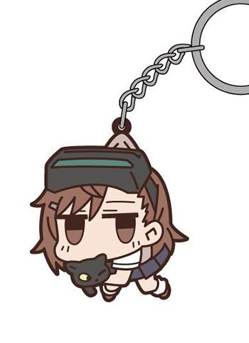 Certain Magical Index - Railgun S Sisters Tsumamare Cospa Pinch Rubber Key Chain Mascot