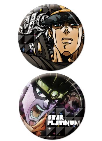 JoJo`s Bizarre Adventure Jotaro - Character Can Badge Set