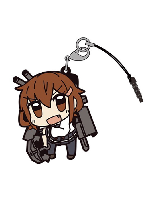 Kantai Collection KanColle - Ikazuchi - Tsumamare Cospa Pinch Rubber Strap