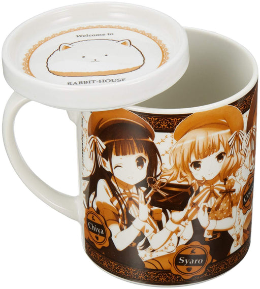 Is the Order a Rabbit? Gochiusa - Chino Rize Syaro Chiya - Cup Mug w/Lid Cospa