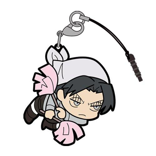 Attack on Titan - Cleaning Levi - Tsumamare Cospa Pinch Rubber Strap AoT