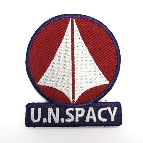 The Super Dimension Fortress Macross U.N.Spacy Cospa Removable Velcro Patch Wappen