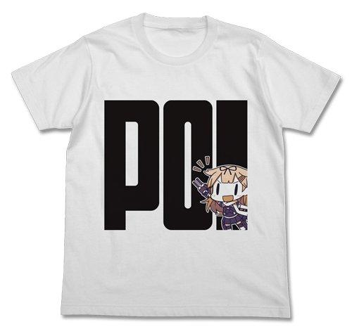 Kantai Collection KanColle - Yudachippoi - Cospa Character White Cotton T-shirt
