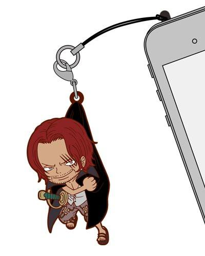 One Piece Shanks - Tsumamare Cospa Pinch Rubber Strap