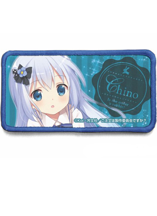 Is the Order a Rabbit? Gochiusa - Chino - Cospa Removable Velcro Patch Wappen