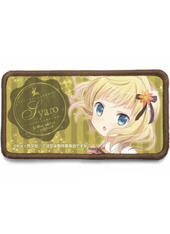 Is the Order a Rabbit? - Syaro - Cospa Removable Velcro Patch Wappen