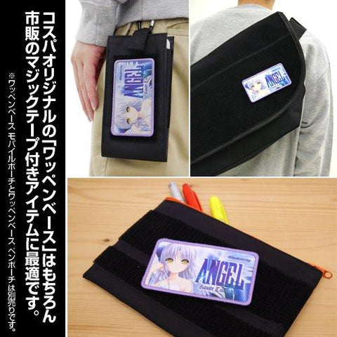 Angel Beats! - Kanade - Velcro Removable Full Color Patch