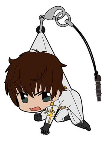 Code Geass Lelouch of the Rebellion R2 - Suzaku Tsumamare Cospa Pinch Rubber Strap