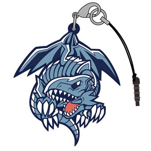 Yu-Gi-Oh! Duel Monsters Blue Eyes White Dragon Tsumamare Cospa Pinch Rubber Strap