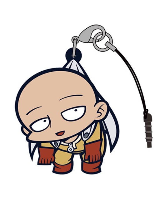 One-Punch Man Saitama - Tsumamare Cospa Pinch Rubber Strap OPM