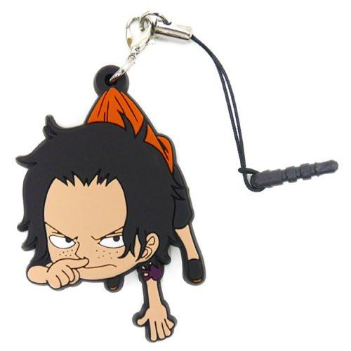 One Piece Ace - Tsumamare Cospa Pinch Rubber Strap Childhood Ver.