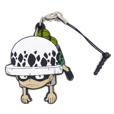 One Piece Law - Cospa Pinch Tsumamare Phone Strap Childhood Ver.