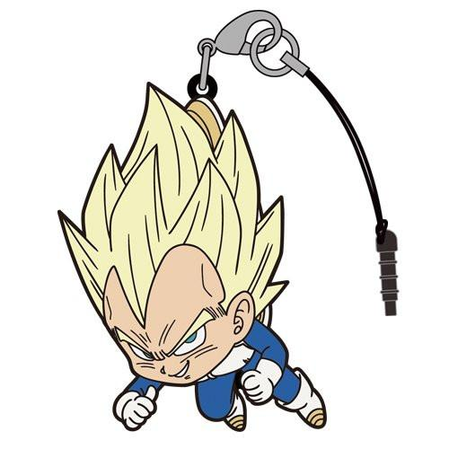 Dragon Ball Super Vegeta Super Saiyan Ver. - Tsumamare Cospa Pinch Rubber Strap
