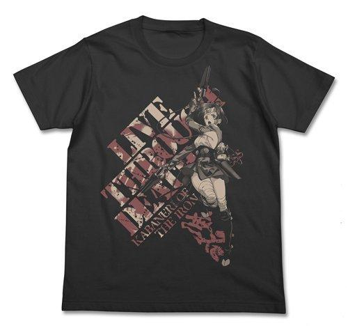Kabaneri of the Iron Fortress Mumei Cospa Character T-shirt Black