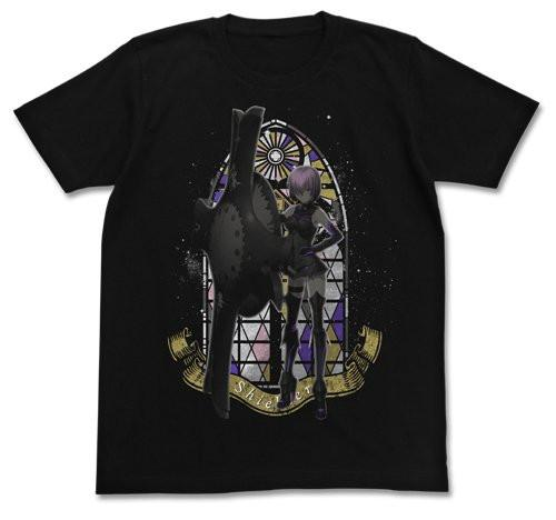 Fate/Grand Order Shielder Mashu/Mash Kyrielite Cospa Black T-Shirt