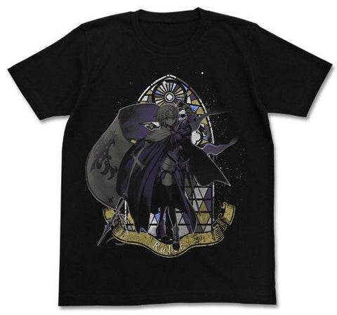 Fate/Grand Order - Ruler Jeanne d'Arc - Cospa T-shirt Black Size L / XL
