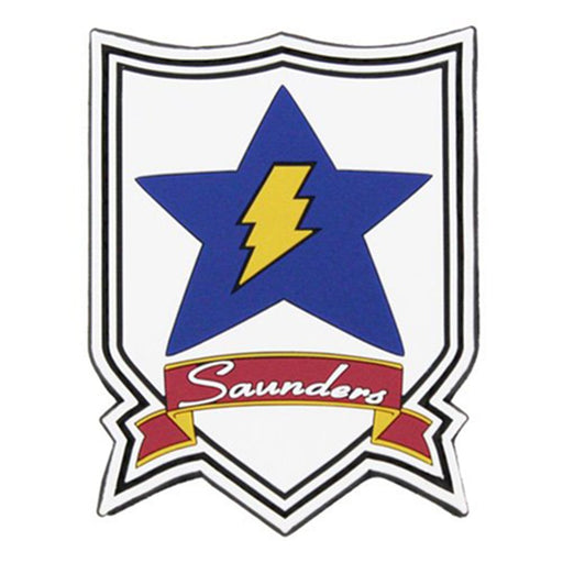 Girls und Panzer - American Saunders University High School - PVC Patch Wappen
