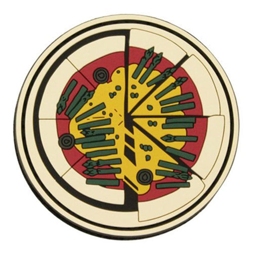 Girls und Panzer - Anzio High School - Cospa PVC Patch Wappen