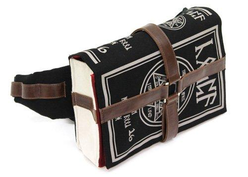 Book of Black Magic Design Bag Pouch for Cosplay Costume