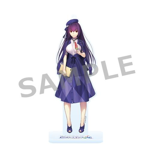 Fate Grand Order Fes 2019 Exclusive FGO Caster Scáthach-Skadi Character Acrylic Stand Mascot Part 4