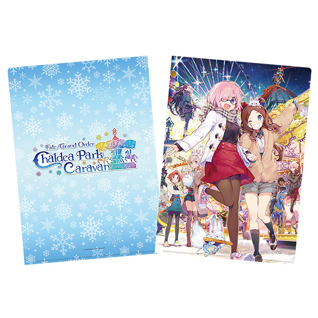 FGO Winter Fes Chaldea Park Caravan - Official Character A4 Clear File Folder by Namie