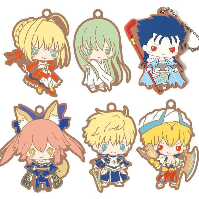 Fate Grand Order Sanrio - Caster Tamamo no Mae - Rubber Mascot Ball-Chain Key Chain Vol.3 FGO