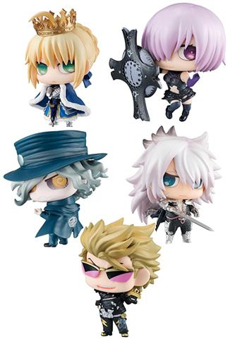 Fate Grand Order Petit Chara! Chimi Character Mini Figure Vol.1 Swirly Eye Ver. FGO