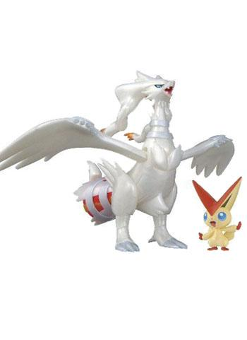 Pokemon Pocket Monster Victini & Reshiram Hero Model Set Poke-Pla