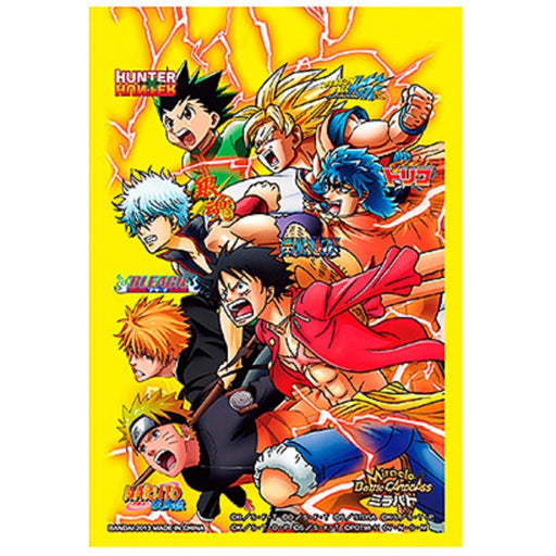 All Star Heroes - Miracle Battle One Piece Naruto Bleach Dragon Ball Z - Character Mini Sleeves