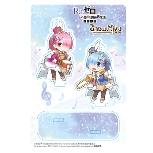 Re: Zero Freezing Bond x Snow Miku 2020 - Rem & Ram - Event Exclusive Character Acrylic Stand