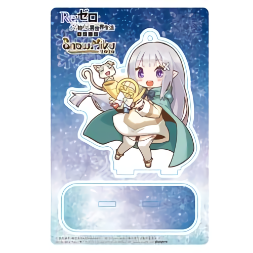 Re: Zero Freezing Bond x Snow Miku 2020 - Emilia - Event Exclusive Character Acrylic Stand