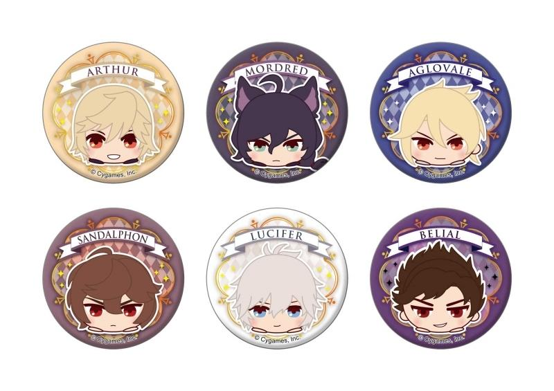 Granblue Fantasy Mochikororin Animate Exclusive Character Can Badge
